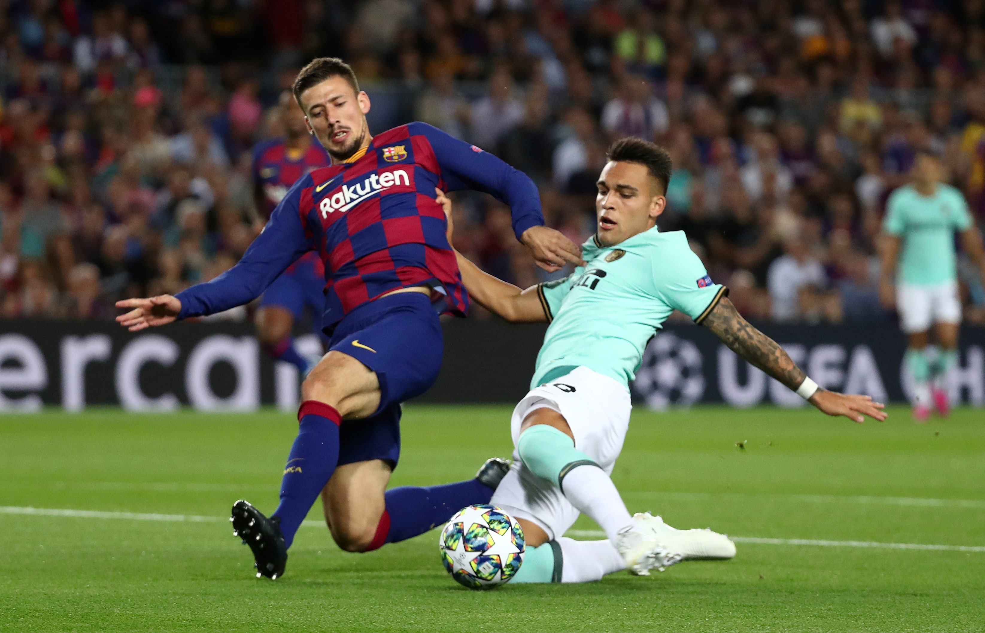 Top 5 Barcelona players with most tackles in 2019-20