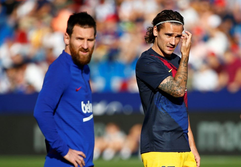 Is Messi relationship causing heartache for Griezmann at Barcelona?