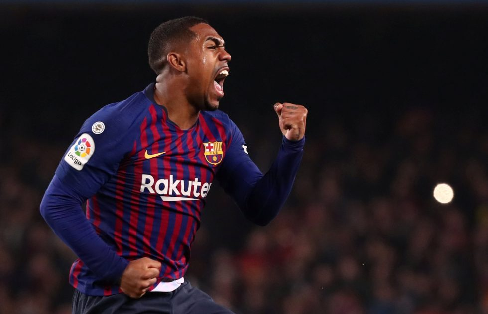 Winger Malcom doesn't regret Barcelona flop move