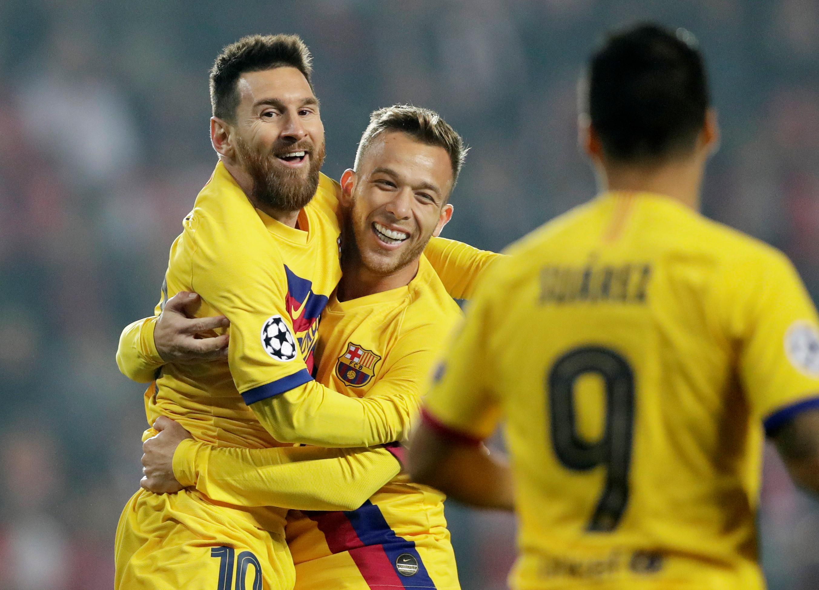 Barcelona midfielder Arthur Melo to miss El Clasico