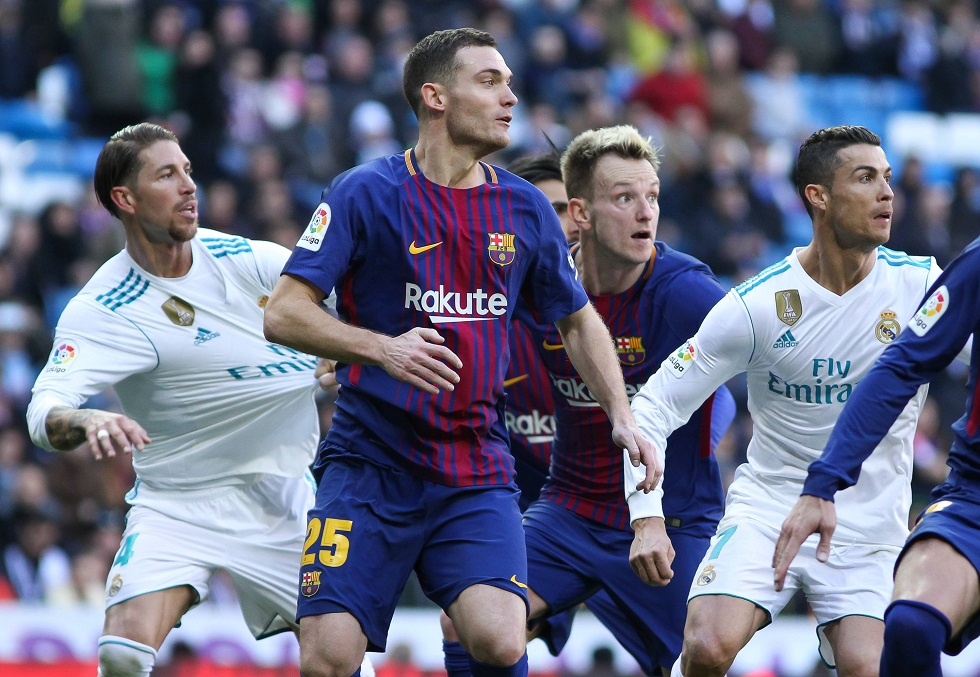 Barcelona vs Real Madrid Head To Head Results & Records (H2H)