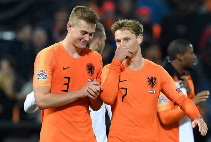 Frenkie De Jong: Matthijs De Ligt could join me in Barcelona some day