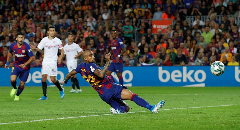 Inter Milan's interest peaks in Barcelona's Arturo Vidal
