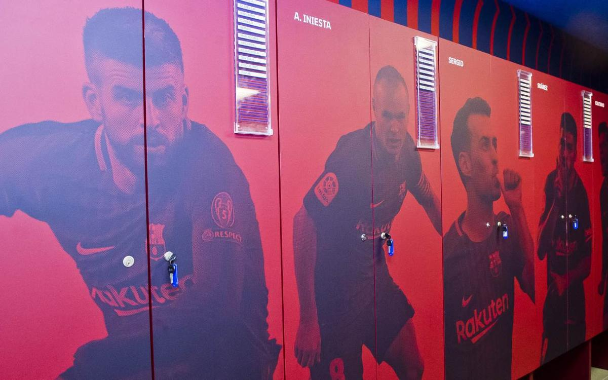 Barcelona Dressing Room 2020