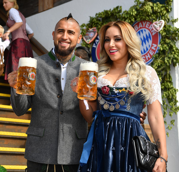 Vidal wife girlfriend