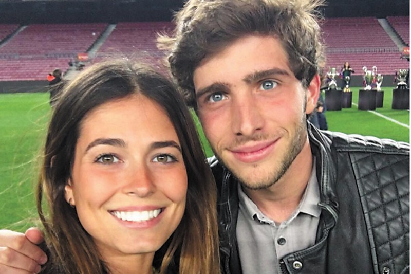 Sergi Roberto wife girlfriend