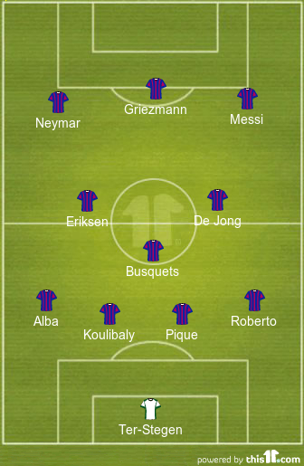 How Barcelona can line up if they get their transfers right in January