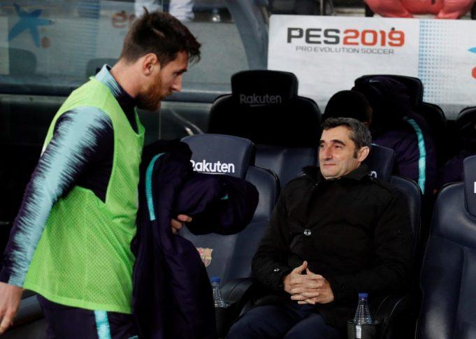 Lionel Messi thanks Ernesto Valverde in latest Instagram post