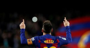 Ronaldinho talks his early impression of Messi