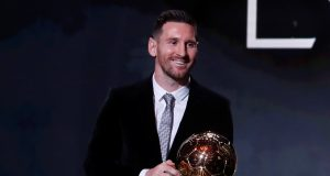 Throwback Lionel Messi wins fifth Ballon d'Or in 2016