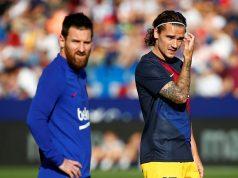 Antoine Griezmann Still Adjusting To Playing Alongside Lionel Messi