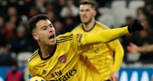 Arsenal striker Gabriel Martinelli reveals Barcelona unsuccessful trial