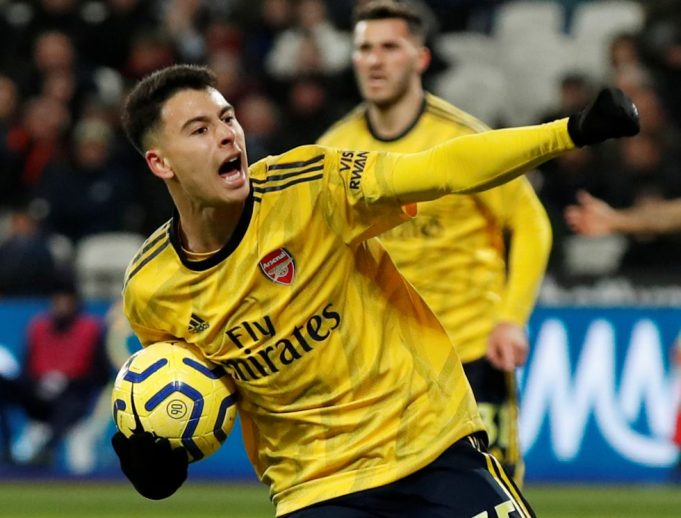 Arsenal striker Gabriel Martinelli reveals Barcelona unsuccessful trial