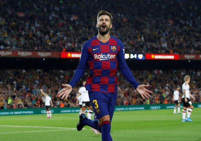 Barcelona defender Gerard Pique could feature in El Clasico