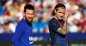 Antonie Griezmann rejects talk of row with Lionel Messi