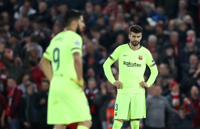 Gerard Pique Urges Barcelona To Remain Focused Amidst Off-Field Issues