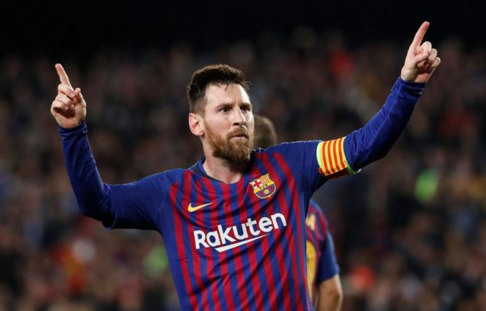 Lionel Messi signs first Barcelona professional contract