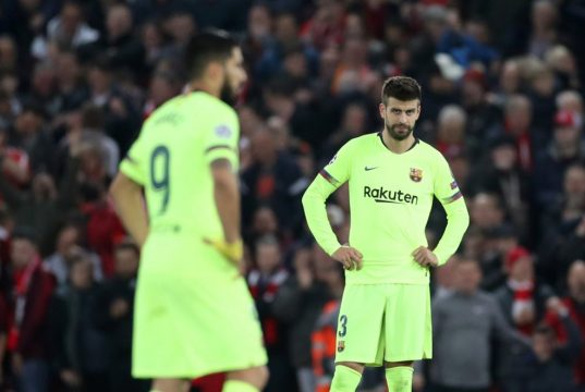 """Pique calls journalist supporting the Barca board a """"puppet"""""""