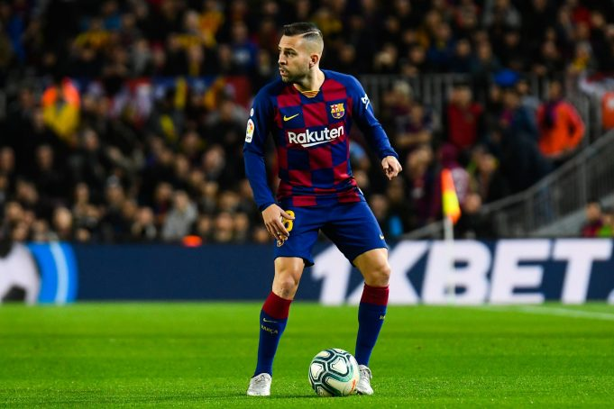 Jordi Alba Unhappy With Barcelona Jeers In 1-0 Real Sociedad Win
