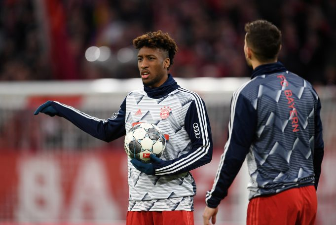 Barca join race for Coman