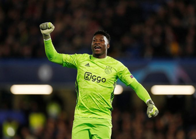 Barcelona to bid for Andre Onana