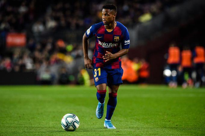 Borussia Dortmund interested in Barca wonderkid Ansu Fati