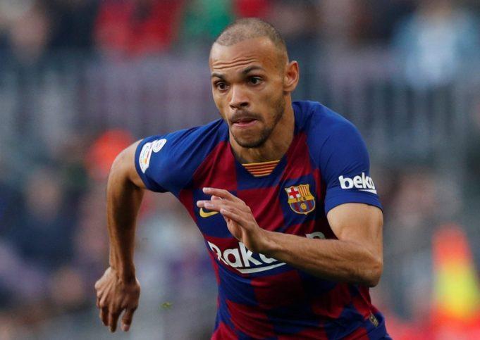 Braithwaite outlines Barcelona ambitions