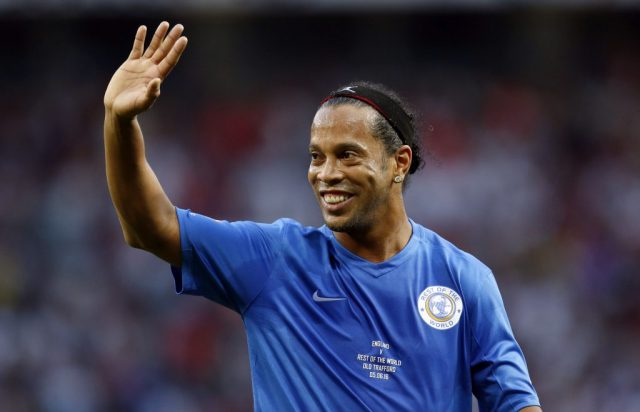 Former Barcelona star Ronaldinho out of jail!