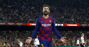 Gerard Pique to leave Barca in the summer