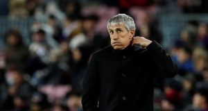 UEFA threatens Quique Setien with suspension