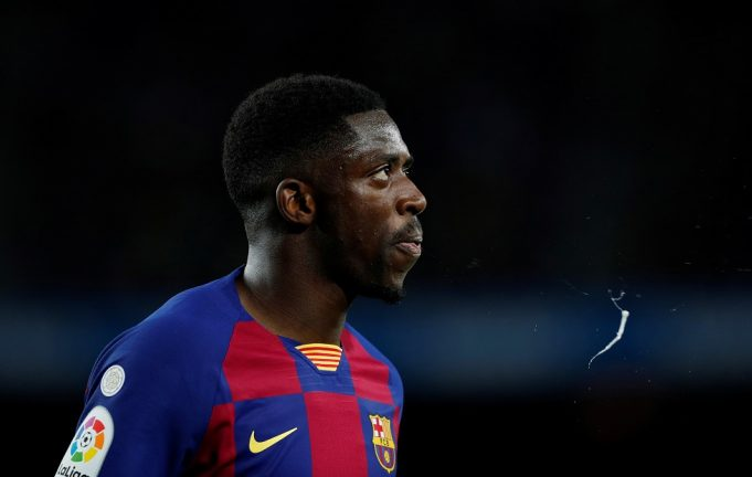 Dembele won't be allowed to play for Barcelona this season