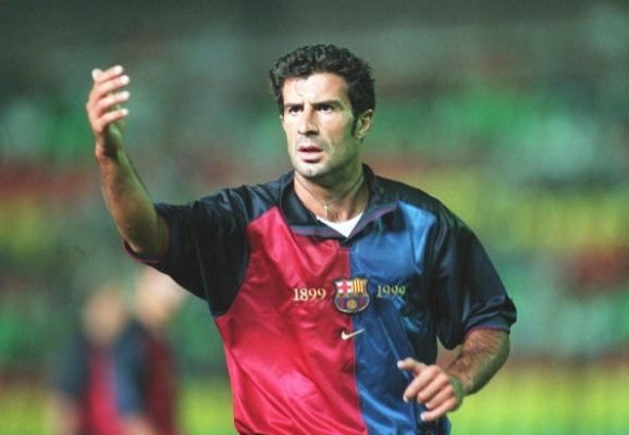 Figo opens up on infamous switch from Barcelona to Madrid