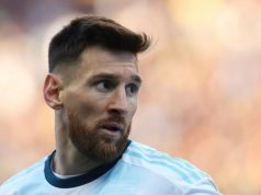 Messi Remained Confined To Parking Lot During Training