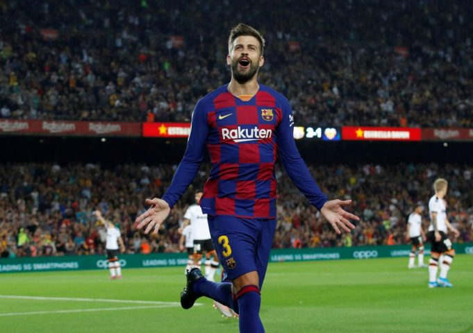 Pique shares opinion on potential La Liga continuation