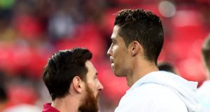Ronaldo pays homage to Messi rivalry
