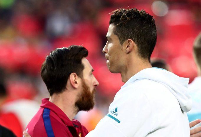 Ronaldo pays homage to Messi rivalry