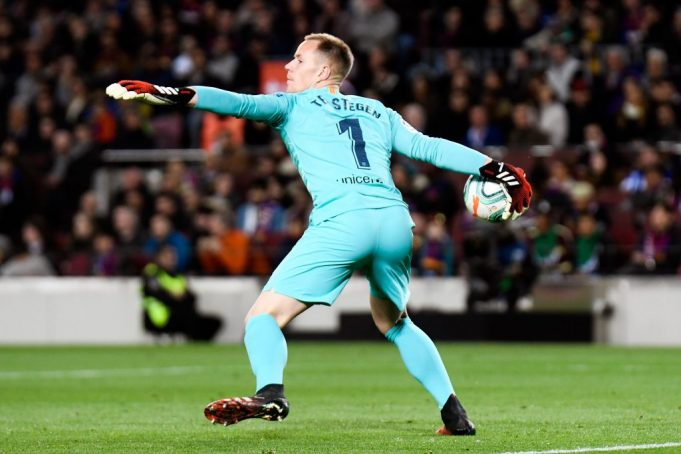 Ter-Stegen reveals contract situation at Barcelona