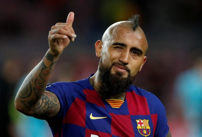 Vidal On Being Back In Training: A pleasure to be back