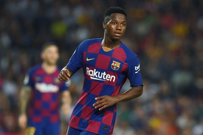 Ansu Fati makes decision over Manchester United transfer