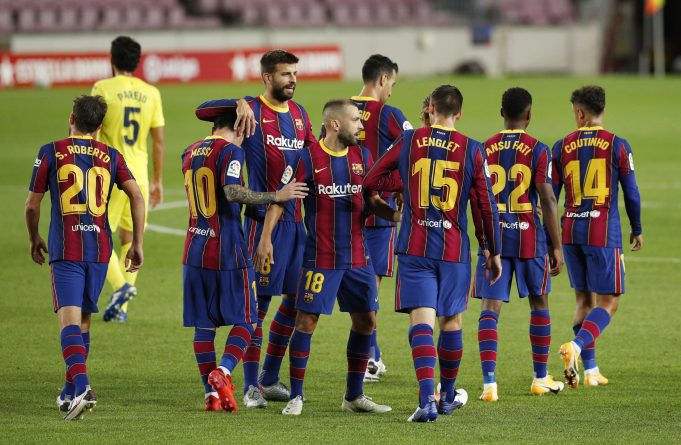 Barcelona Predicted line up vs Sevilla