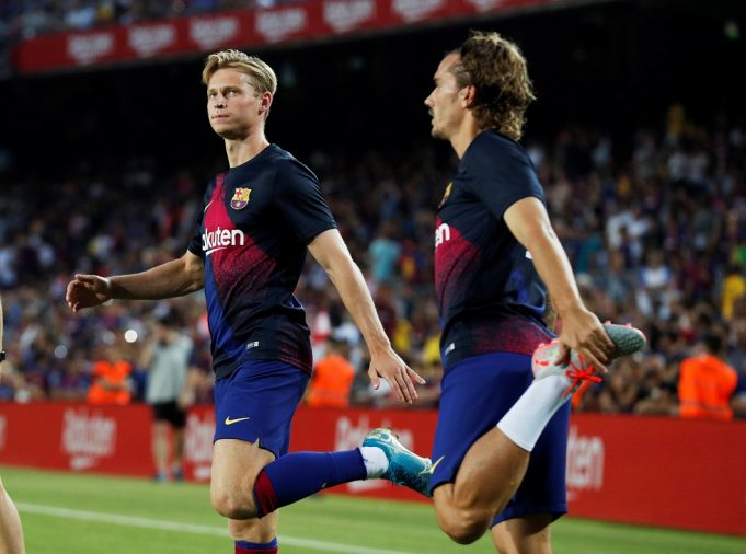 De Jong Admits To Feeling Bad About Valverde Sacking