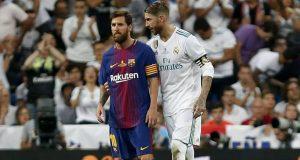 Ramos takes 'VAR' dig at Pique and Barcelona