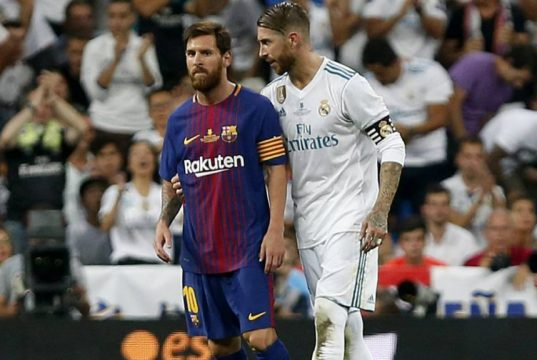 Ramos takes 'VAR' dig at Pique and Barcelona