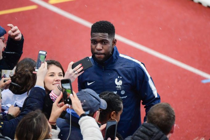 Barcelona defender Samuel Umtiti injured - yet again