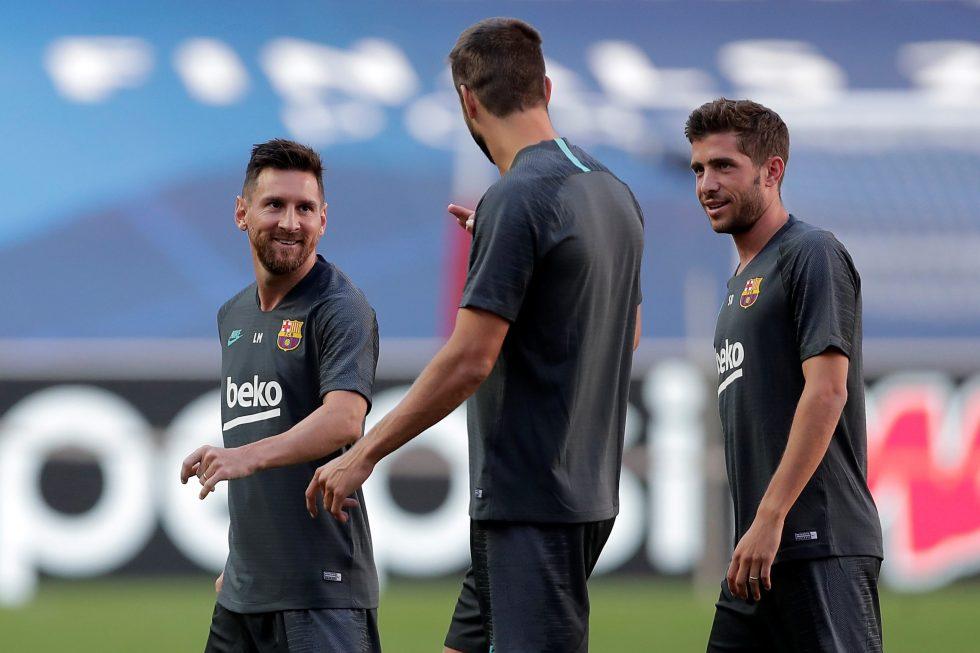 Barcelona predicted line up vs Villarreal