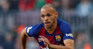 Everton And West Ham Battle For Barcelona's Braithwaite