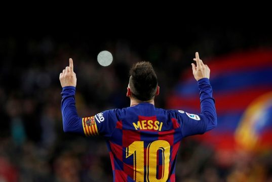 Messi Makes History With 7th Pichichi Award Surpassing Benzema