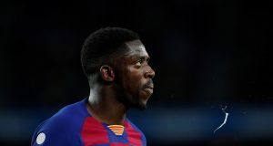 Ousmane Dembele steps up his recovery from injury