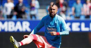 Vidal Not Letting Go Of La Liga Title Or CL Aspirations