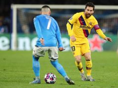 Barcelona Backed To Thump Napoli In CL Showdown